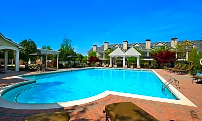 Pool, The Carriage Homes at Wyndham, 1