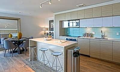 Kitchen, 7770 Norfolk Apartments, 1