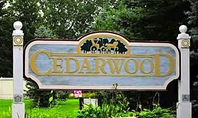 Community Signage, Cedarwood Senior Apartments (55+ Community), 1
