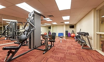 Fitness Weight Room, Four Seasons, 2