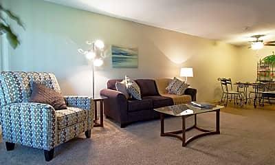 Living Room, Cedar Valley Apartments, 0