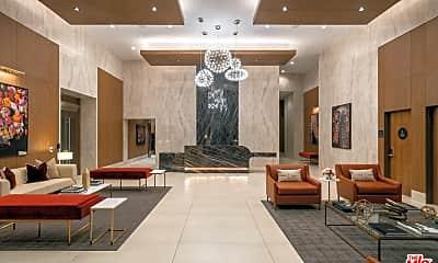 Living Room, 1201 S Hope St 3014, 2