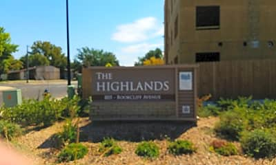 The Highlands Apartments, 1