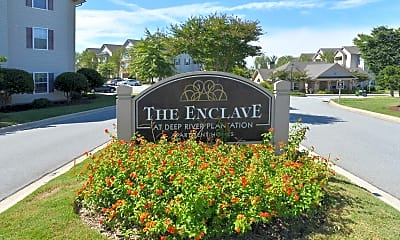 Community Signage, The Enclave At Deep River Apartments, 2