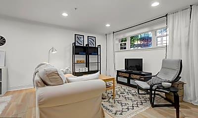Living Room, 723 Longfellow St NW 2, 1