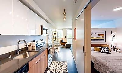 Kitchen, Muir Apartments, 0