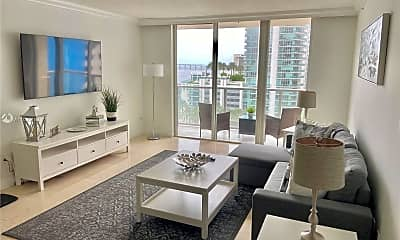 Living Room, 1155 Brickell Bay Dr 1003, 0