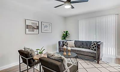 Living Room, 4425 Gilbert Ave STUDIO, 0