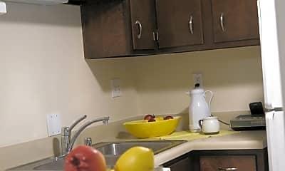 Kitchen, Belknap Apartments, 1