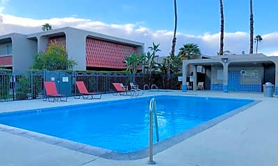 Pool, 2230 North Indian Canyon Drive Unit E, 1