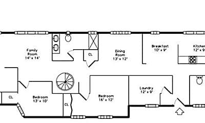 Patio / Deck, 825 N Oakley Ave, 2
