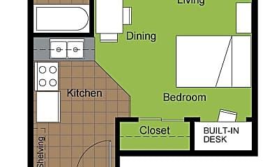 Building, 510 E Clark St, 2