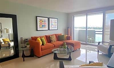Living Room, 1500 Bay Rd 1220S, 1