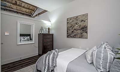 Bedroom, Yarn Factory Lofts, 1