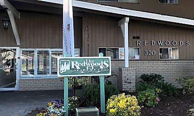 Redwoods Apartments, 1