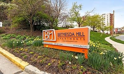 Community Signage, Bethesda Hill, 2