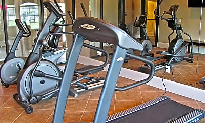 Fitness Weight Room, Cypresswood Crossing Apartments, 2