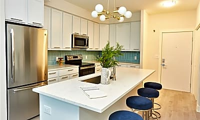 Kitchen, The Millennia Apartment Building, 2