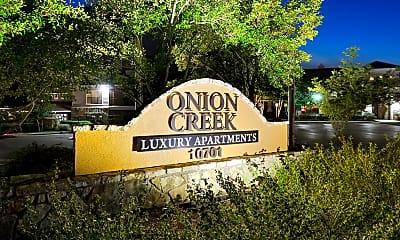 Community Signage, Onion Creek, 2