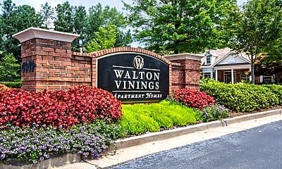 Community Signage, Walton Vinings, 2