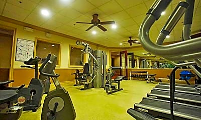 Fitness Weight Room, Horizons At The Village At Whitehall, 2