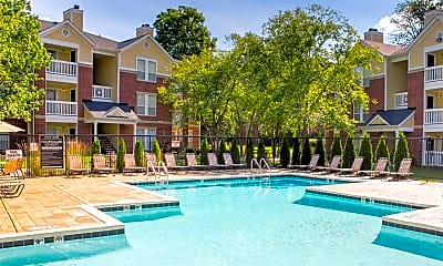 Pool, The Residence At White River Apartments, 0