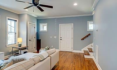 Living Room, 1409B Arthur Ave, 1