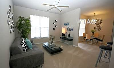 Living Room, 1700 University Blvd, 1