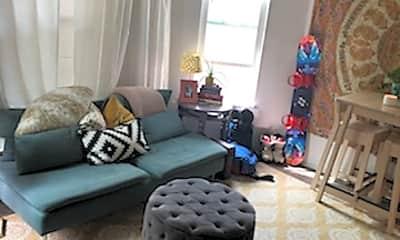 Living Room, 1263 N Clarkson St, 1