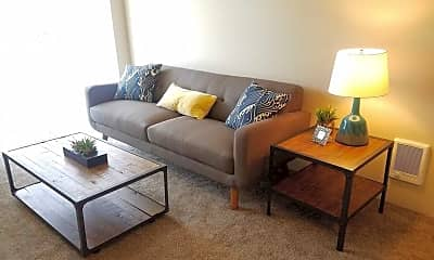 Living Room, Eastgate Apartments, 0