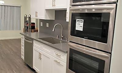 Kitchen, 1727 S Bentley Ave 208, 2