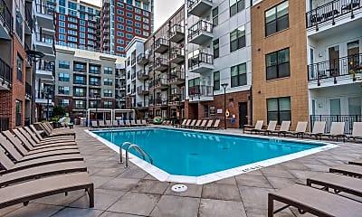 Pool, 1505 Demonbreun Apartments, 0