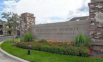 Community Signage, Greystone Summit Apartments, 2