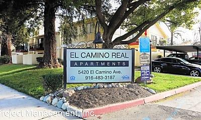 Community Signage, 5420 El Camino Ave, 1