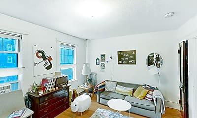 Living Room, 155 Summer Street, Unit 12AR, 1
