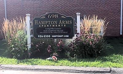 Hampton Arms Apartments, 1