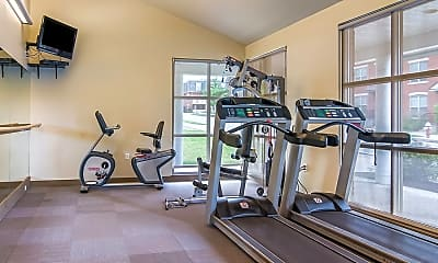 Fitness Weight Room, Bedford Hill Apartments, 2
