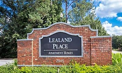 Community Signage, Lealand Place, 0