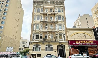 Building, 665 Geary St, 1