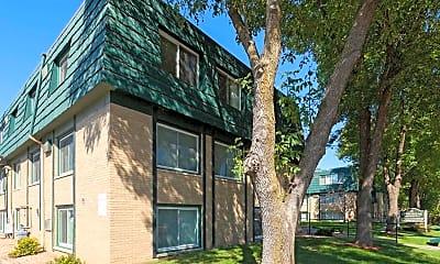Building, Evergreene Apartments, 1