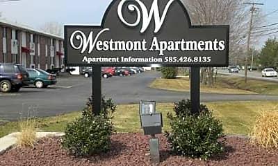 Community Signage, Westmont Apartments, 1