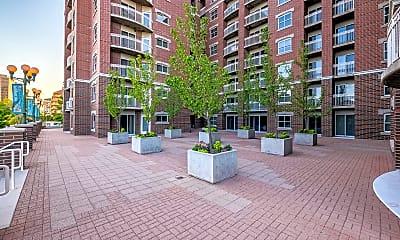 Building, Brigham Apartments, 1