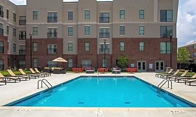 Pool, The Pad on Harvard Apartments, 1
