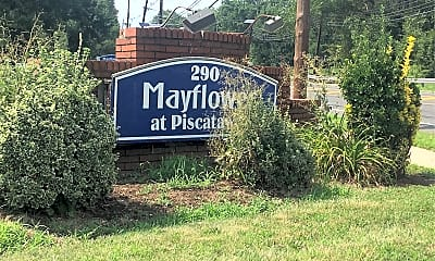 Mayflower At Piscataway, 1