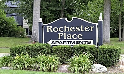 Community Signage, Rochester Place, 2