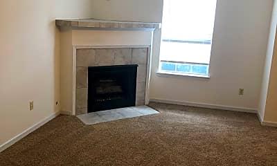 Living Room, Palisades Apartments, 2
