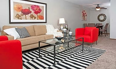 Living Room, Aspenwoods, 1
