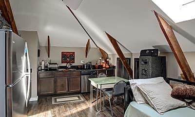 Kitchen, The Pierce School Lofts, 1