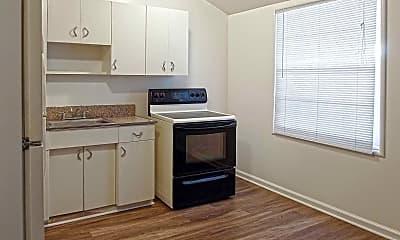 Kitchen, The Rockingham Apartments, 1