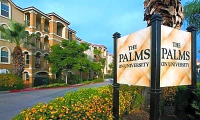 The Palms on University, 0